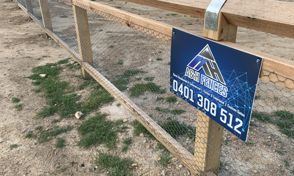 FENCING Awards nomination - Windeyer Street project by A&H Fences