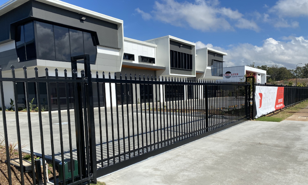 FENCING Awards nomination - Comslie Business Park project by Fence Co