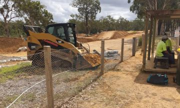 FENCING Awards nomination - Nowra Motorplex project by C & M Fencing