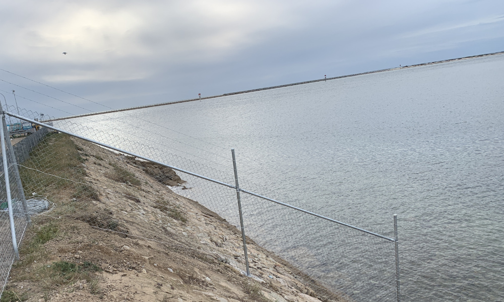 FENCING Awards nomination - Royal South Australian Yacht Squadron project by SMC Fencing Construction