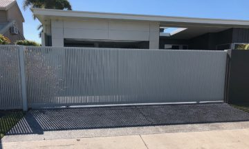 FENCING Awards nomination - Fence with full privacy project by Oceans Fencing