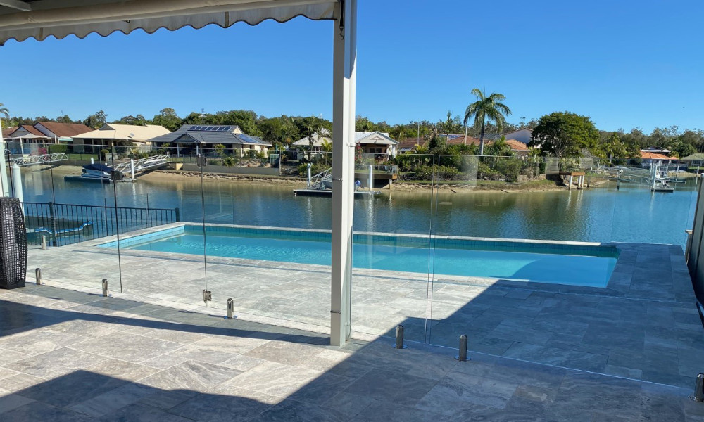 Winner Innovation & Excellence in Pool Fencing - Maroochydore project by Oceans Fencing