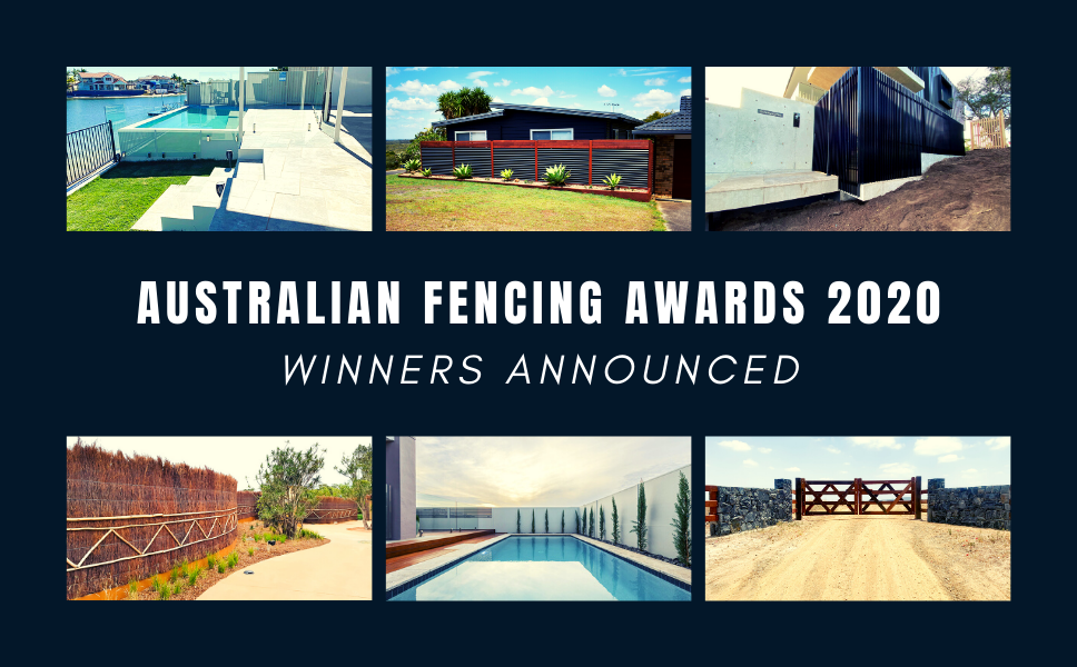 Australian FENCING Awards 2020 Winners - The Projects