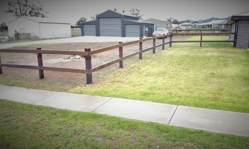 FENCING Awards nomination - Posts and Rails project by PH Fencing