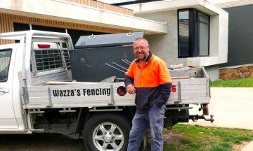 Industry Legend 2020 - Warren Silvey from Wazza's Fencing