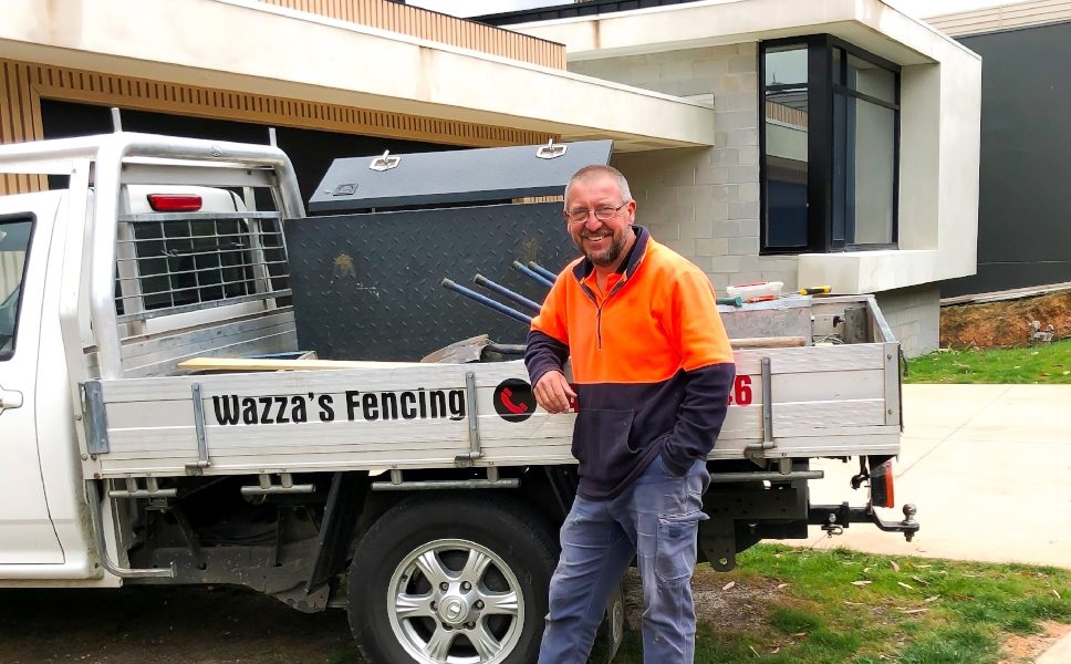 Industry Legend 2020 - Warren Silvey from Wazza's Fencing