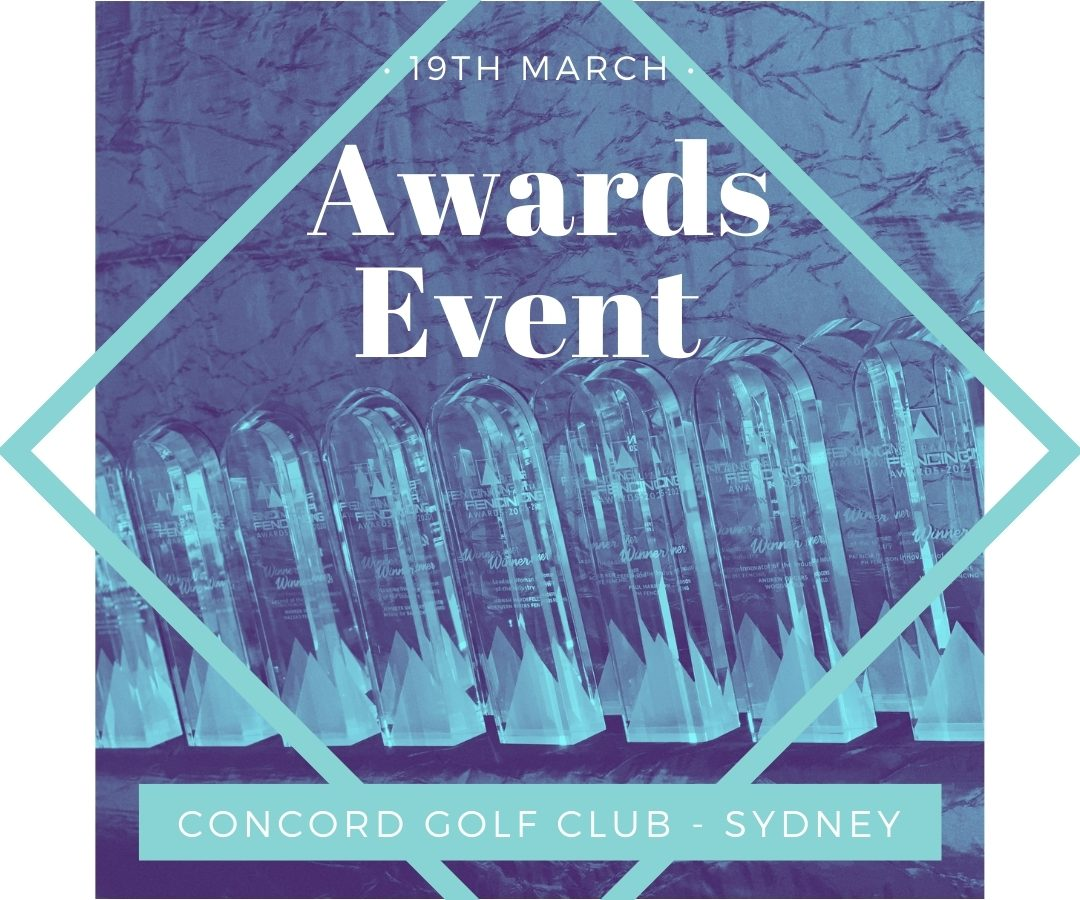 Australian FENCING Awards event - book now!