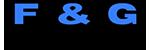 F and G logo black 1