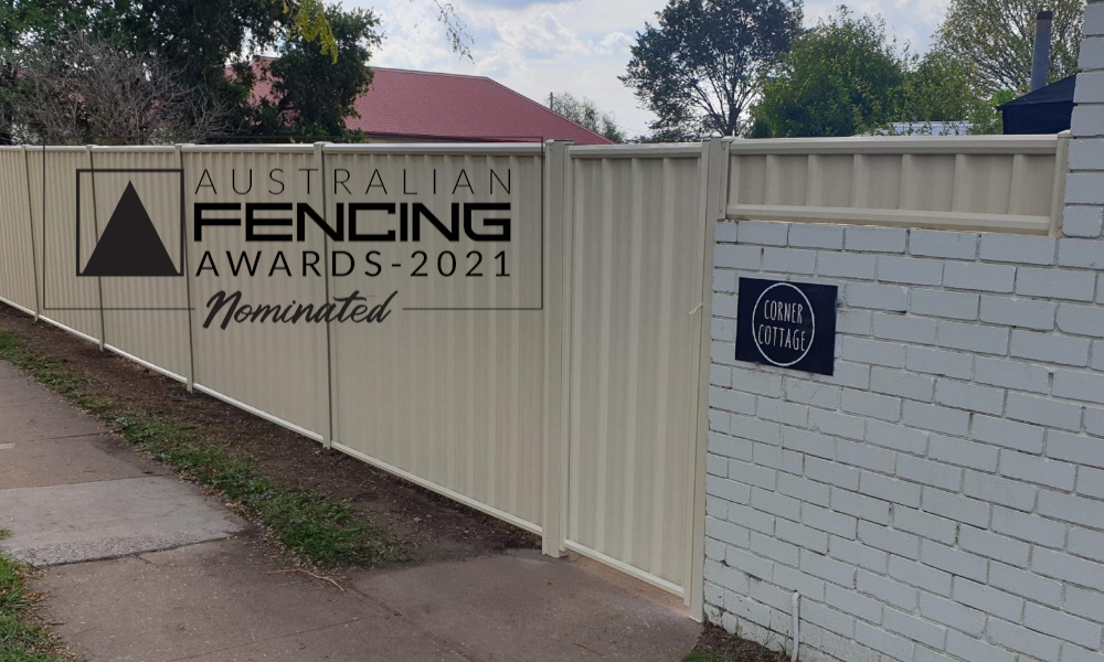 FENCING Awards 2021 nomination - The Corner Store Project by PH Fencing