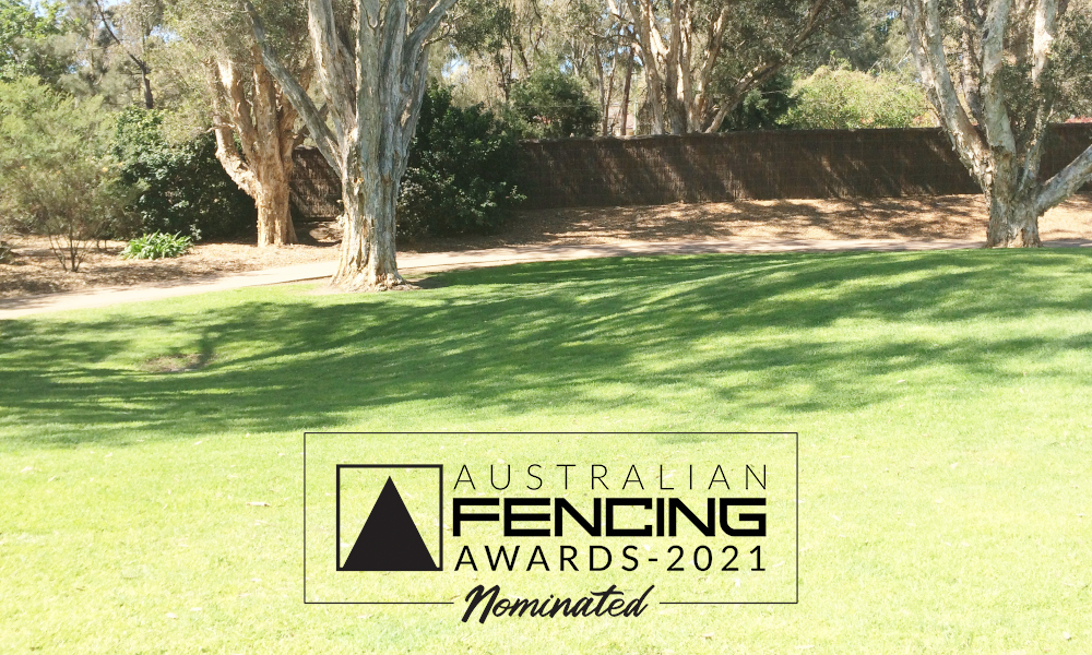 FENCING Awards 2021 nomination - Brushwood Fencing at Golf Course by Brushwood Fencing Australia