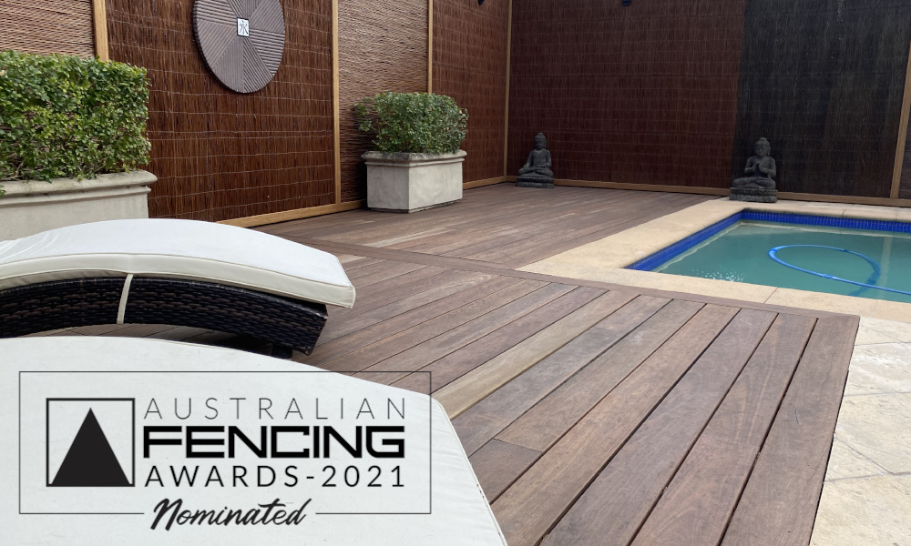 FENCING Awards 2021 nomination - Bali Inspired Pool Area by House of Bamboo