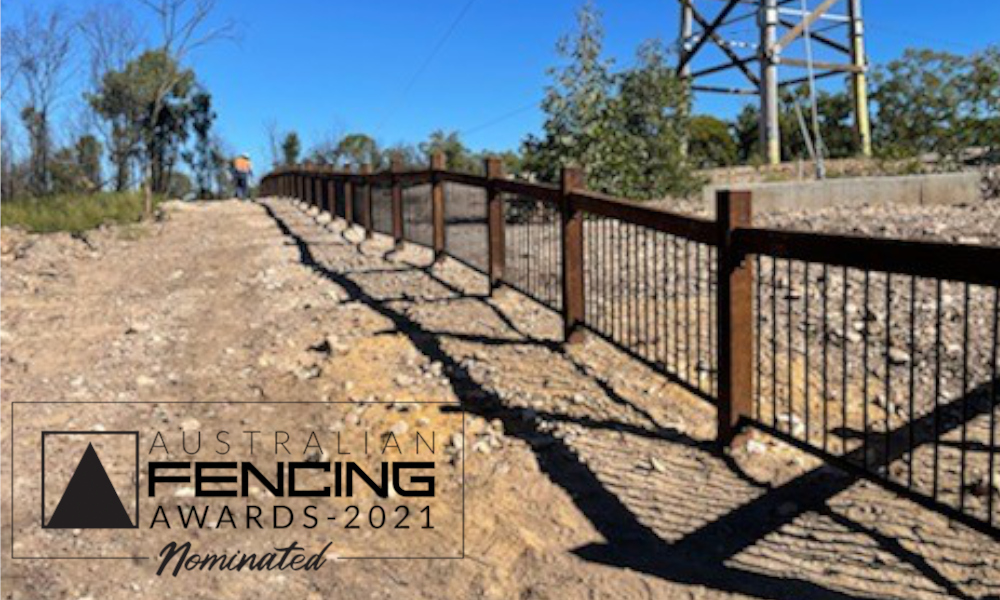 FENCING Awards 2021 nomination - Barakula State Forest Fire Tower by Evans Fencing Toowoomba